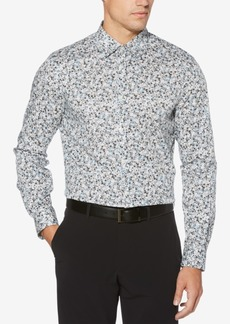 Perry Ellis Men's Mini Floral-Print Shirt