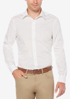 Perry Ellis Men's Mini Geo-Print Shirt