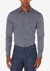 Perry Ellis Men's Multi-Color Floral Print Shirt, A Macy's Exclusive Style