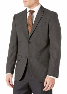 Perry Ellis Men's Non Iron Stripe Suit Jacket  XX Large/ Regular