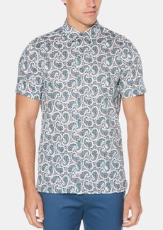 Perry Ellis Men's Paisley Shirt