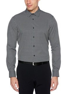 Perry Ellis Men's Patterned Stretch Shirt