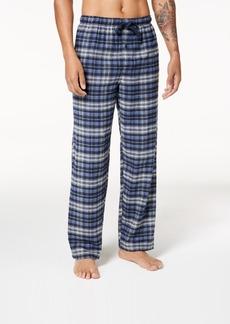 Perry Ellis Men's Plaid Flannel Pajama Pants