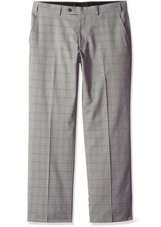 Perry Ellis Men's Modern Fit Suit Separate (Blazer Pant and Vest) Grey Plaid