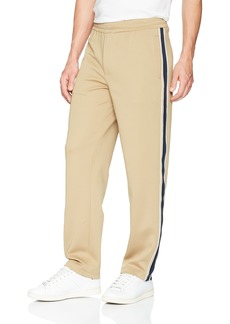 Perry Ellis Men's Polyester Drawstring Pants kelp