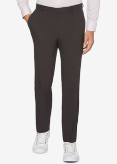 Perry Ellis Portfolio Extra Slim-Fit Solid Water Repellent Men's Dress Pants