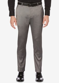 Perry Ellis Men's Portfolio Extra-Slim Fit Stretch Iridescent Tech Dress Pants