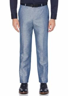 Perry Ellis Men's Portfolio Modern Fit Linen Blend Pants  38x32