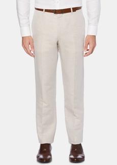Perry Ellis Men's Portfolio Modern-Fit Linen/Cotton Solid Dress Pants
