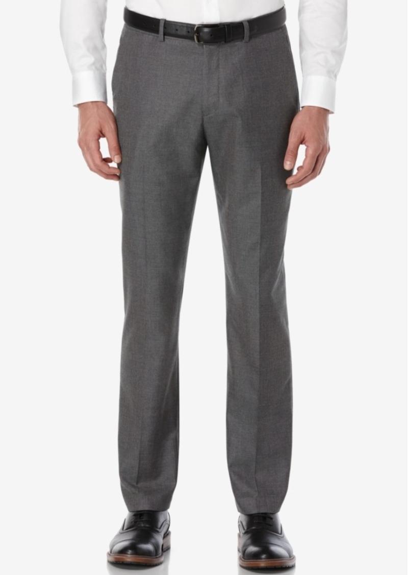 Perry Ellis Men's Portfolio Slim-Fit Non-Iron Textured Dress Pants