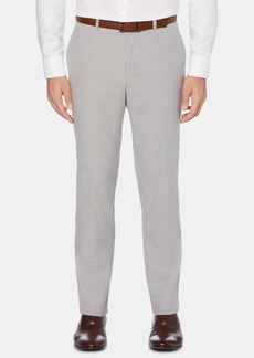 Perry Ellis Men's Portfolio Slim-Fit Performance Stretch Non-Iron Tonal Horizontal Stripe Dress Pants