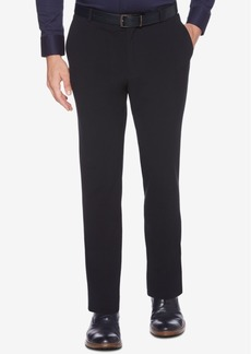 Perry Ellis Men's Portfolio Slim-Fit Stretch Seersucker Dress Pants
