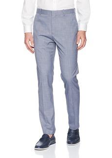 Perry Ellis Men's Portfolio Slim Fit Stretch Subtle Plaid Pant  34x29