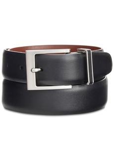 Perry Ellis Men's Portfolio Smooth Leather Belt