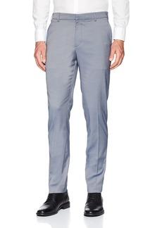Perry Ellis Men's Portfolio Very Slim Fit Stretch Iridescent Pant Coastal f jord 36x30