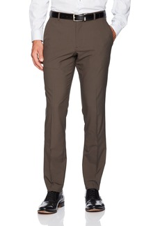 Perry Ellis Men's Portfolio Very Slim Solid Tech Pant  34x34