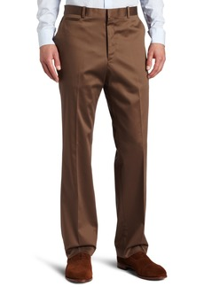 Perry Ellis Men's Premium Tailored Modern Fit Flat Front Solid Pant  36x29