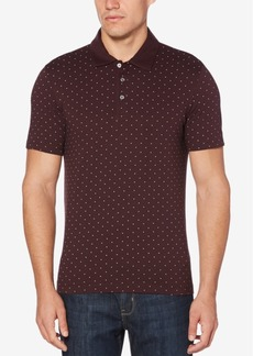 Perry Ellis Men's Printed Cotton Polo