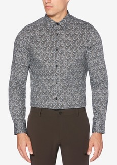 Perry Ellis Men's Printed Performance Shirt