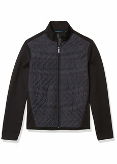 Perry Ellis Men's Quilted Nylon Jacket