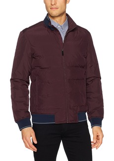 Perry Ellis Men's Quilted Puffer Jacket