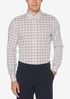 Perry Ellis Men's Regular-Fit Check Shirt