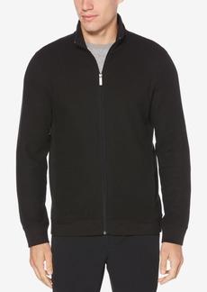be3028c84e SALE! Perry Ellis Perry Ellis Men s Classic Texture Quarter Zip Sweater