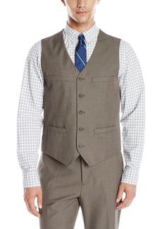 Perry Ellis Men's Regular Fit Pattern Twill Suit Vest