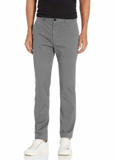 Perry Ellis Men's Resist Spill Slim Fit Stretch Solid Chino Pant