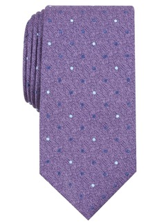 Perry Ellis Men's Saxon Classic Dot Tie