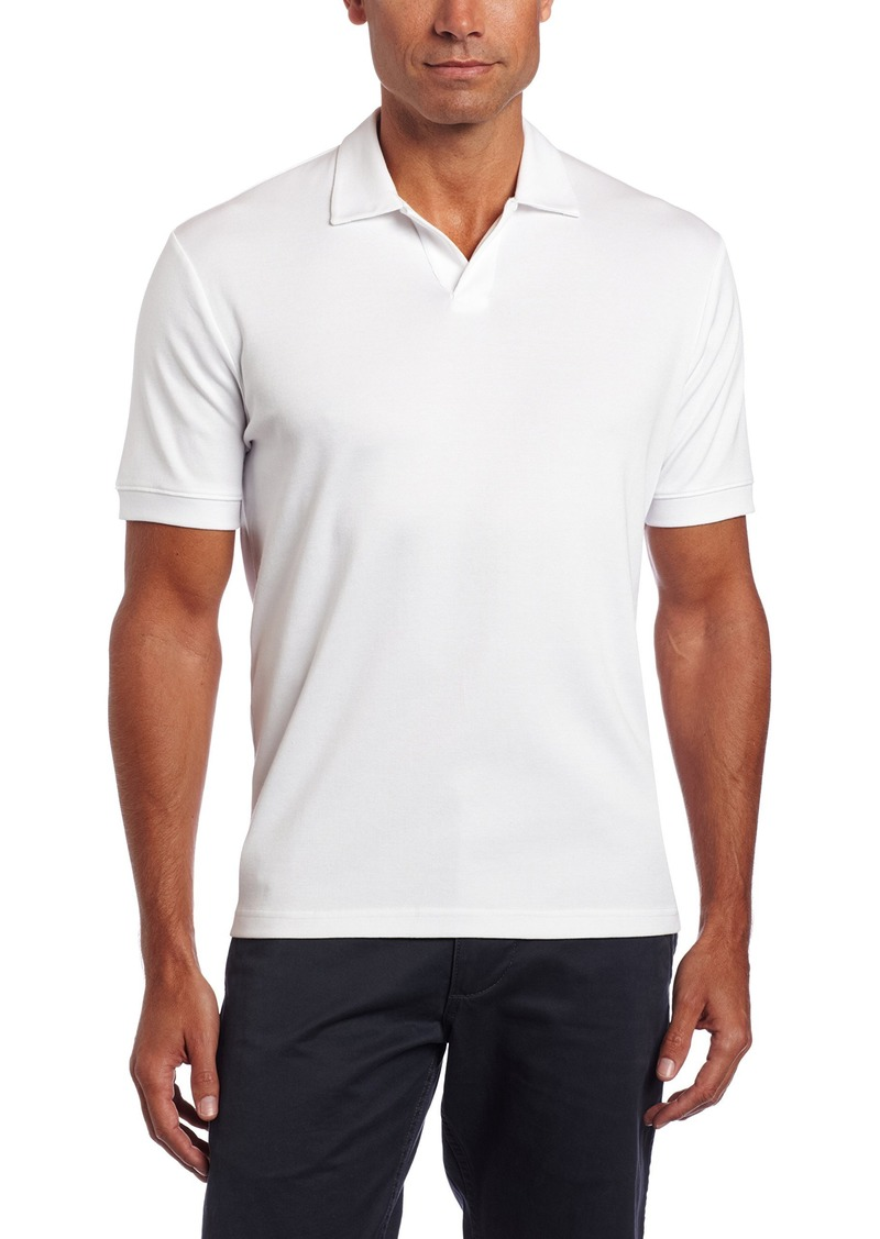 Perry Ellis Men/'s Big Tall Stretch Pima Open Polo