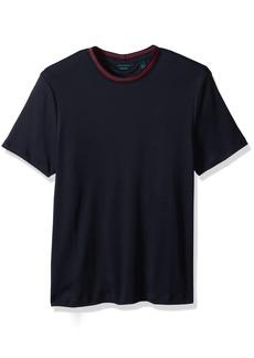 Perry Ellis Men's Short Sleeve Pima Cotton Crew Shirt