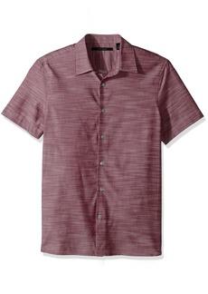 Perry Ellis Men's Short Sleeve Solid Slub Texture Shirt  Extra Extra Large