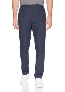 Perry Ellis Men's Slim Fit Crosshatch Cotton Pant  32W X 32L