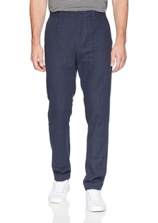 Perry Ellis Men's Slim Fit Crosshatch Cotton Pant  34W X 30L