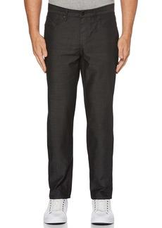 Perry Ellis Men's Slim Fit Crossover Rinse Denim Jeans