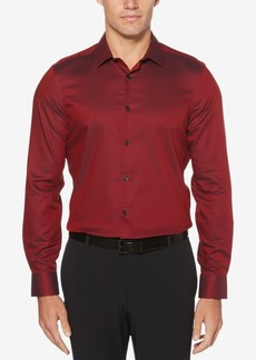 Perry Ellis Men's Slim-Fit Dobby Shirt
