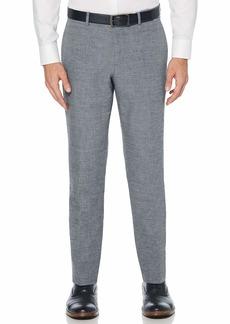 Perry Ellis Men's Slim Fit End Linen Suit Pant