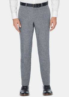 Perry Ellis Men's Slim-Fit End-On-End Suit Pants