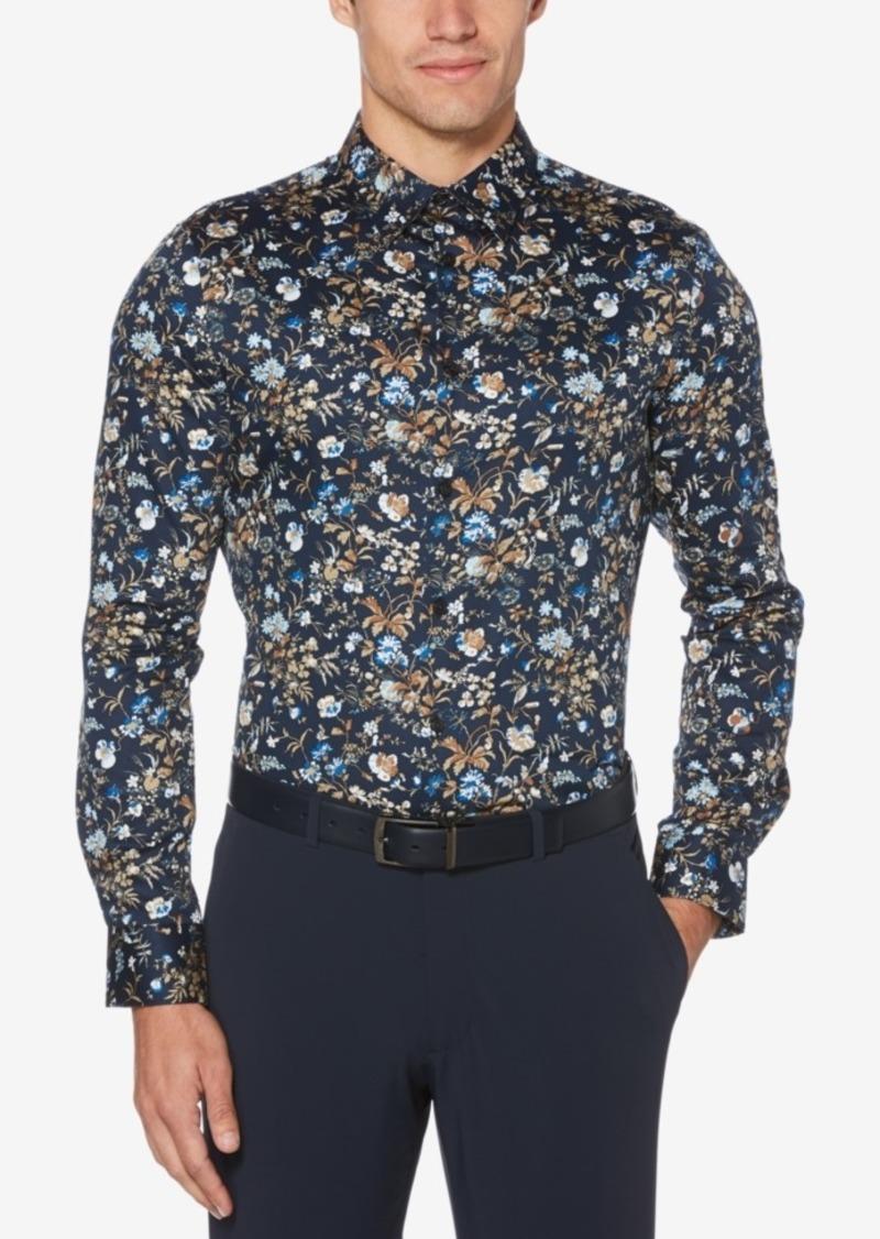 Perry Ellis Men's Slim-Fit Floral Shirt