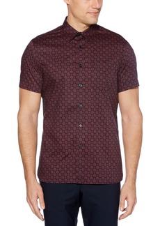 Perry Ellis Men's Slim-Fit Foulard Shirt