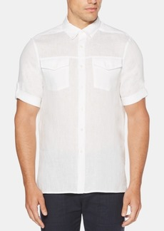 Perry Ellis Men's Slim-Fit Linen Shirt