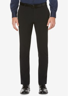 Perry Ellis Men's Slim-Fit Machine Washable Dress Pants