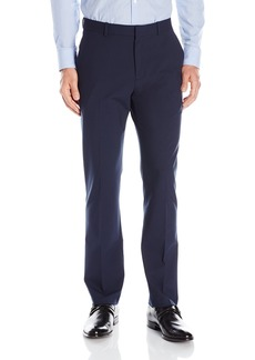 Perry Ellis Men's Slim Fit Machine Washable Flat Front Pant  31x32