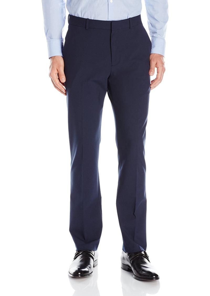 Perry Ellis Men's Slim Fit Machine Washable Flat Front Pant  33x30