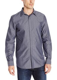 Perry Ellis Men's Paisley Jacquard Shirt