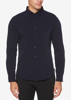 Perry Ellis Men's Slim-Fit Seersucker Shirt