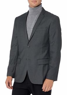 Perry Ellis Men's Slim Fit Solid Jacket  Small/