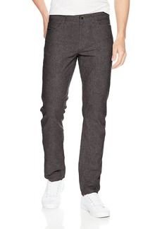 Perry Ellis Men's Slim Fit Solid Linen Cotton Pant  31W X 30L