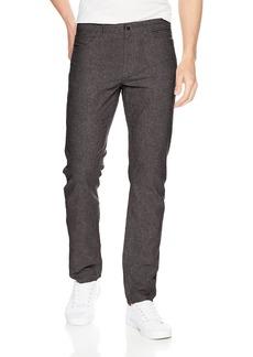 Perry Ellis Men's Slim Fit Solid Linen Cotton Pant  40W X 32L